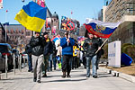 Photo from Rally Against the Spread of Fascism in Ukraine
